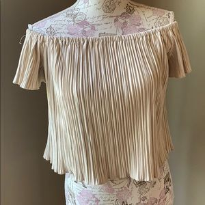 Flutter by dance and marvel large cream top